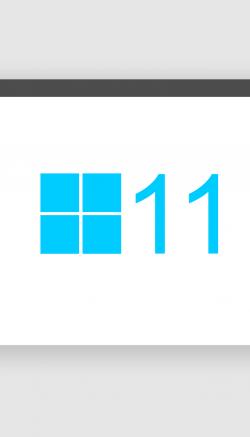 Ilustração de uma tela de computador e nela um quadrado composto por quatro quadrados menores e o número 11 ao lado deles